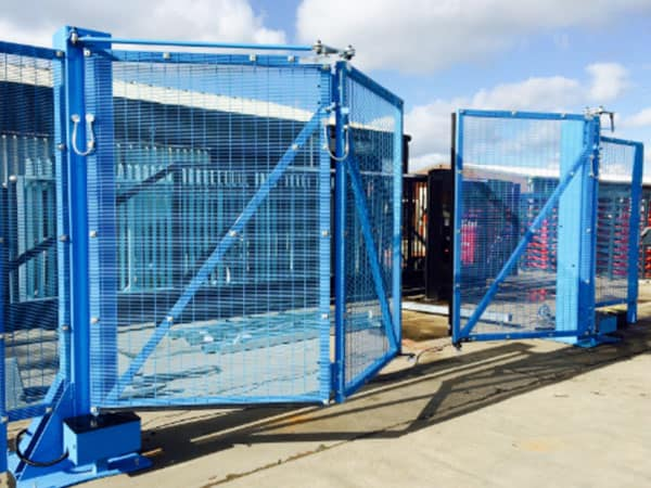 High Rise Metal Folding Gates