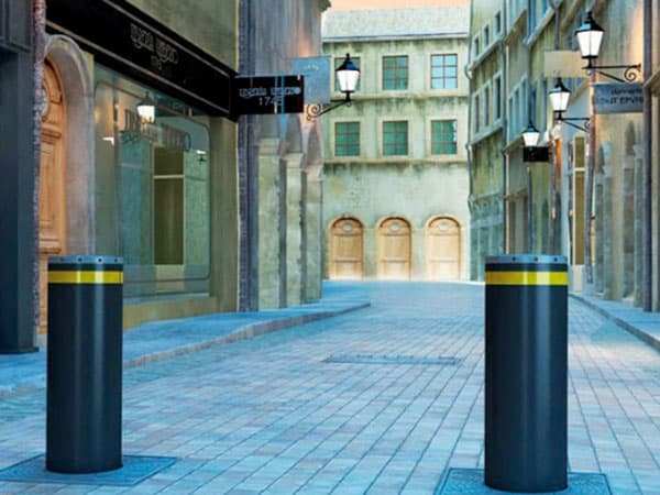 Rising Road Bollards