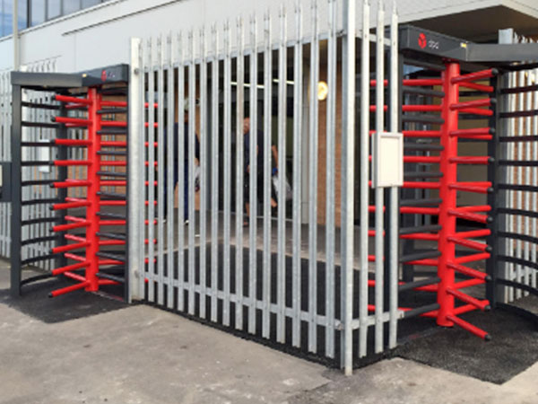 Full Height Turn Style Gates