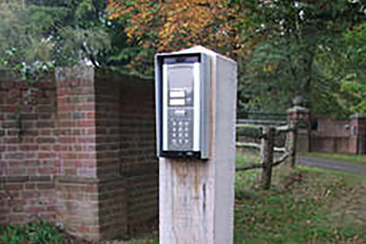 Outdoor Control Access Phone