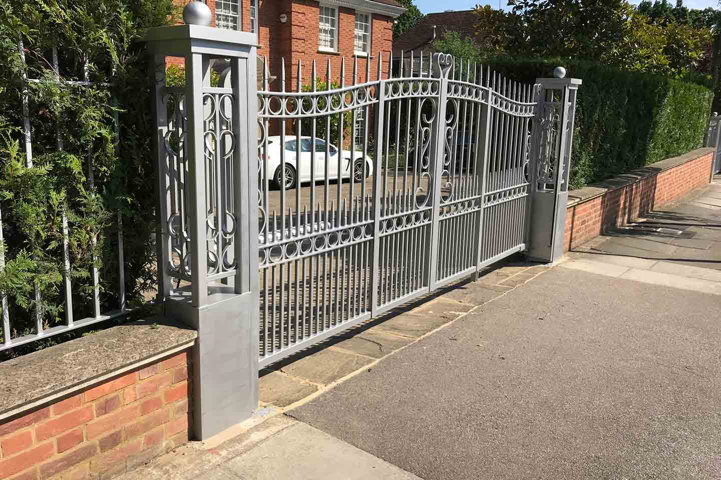 Ornamental Residential Metal Gates